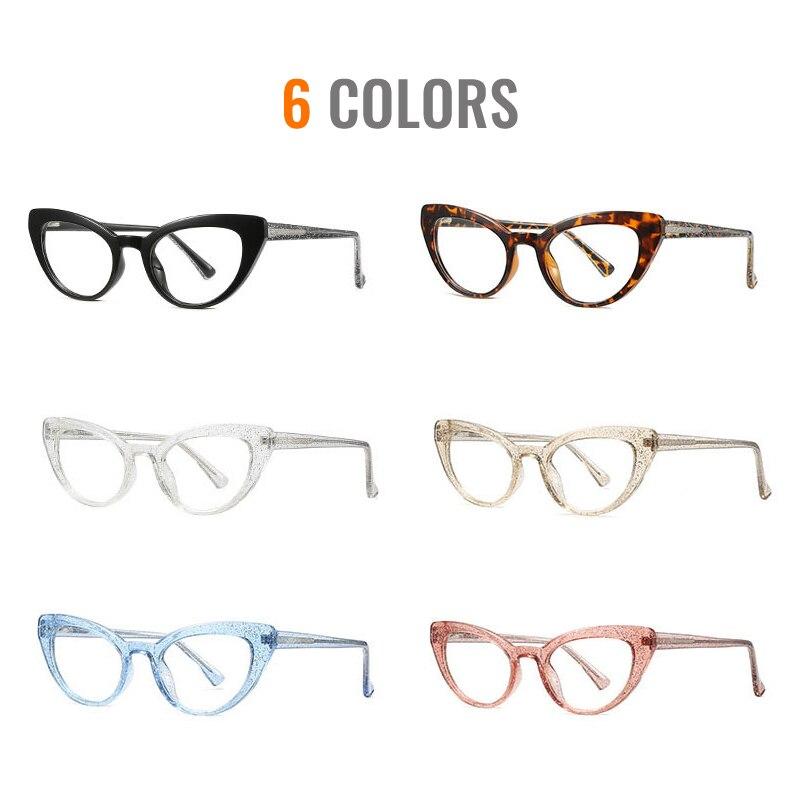 Модные прозрачные очки toketorism с bluelight женские качественная