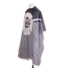 Waterproof Haircut Cape Cloth Hairdresser Apron Cutting Hair Pattern Salon Barber Cape Hairdressing Wrap Gown Tools