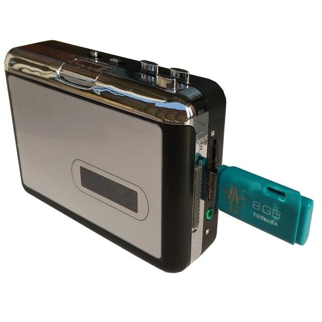 Captura de conversor de cassete para mp3, converter vídeo analógico antigo para mp3 salvar em disco flash usb diretamente, sem necessidade de pc, frete grátis