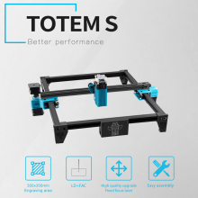 TOTEM S Laser Engraver Wood Router CNC Router 40W High Precision Laser Engraving Machine Fast Carver Laser Cutter Printer