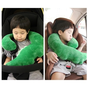 Image 5 - תינוק ילד נסיעות Unicorn כרית ילדי ראש צוואר תמיכת להגן על רכב חגורת בטיחות כרית כתף בטיחות רצועת חמוד בעלי החיים כרית