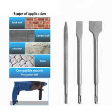 Drill-Bits Hammer-Drill Hand-Tool Electric-Hammer Concrete for Point Flat