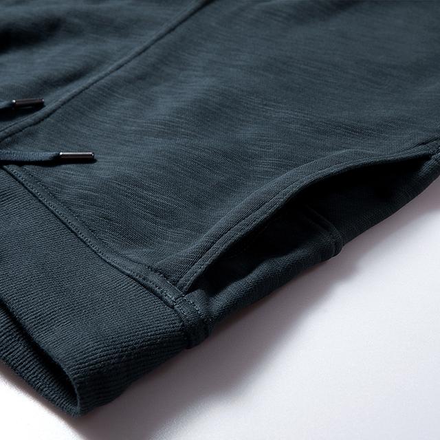 Zipper Leg Casual Cotton Joggers
