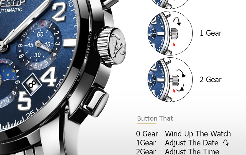 Hd2ffe8c346f047b5bfccd55bbe537b08d AESOP Luminous Automatic Mechanical Watch Men Luxury Brand Business Waterproof Stainless Steel Male Clock Relogio Masculino 2019