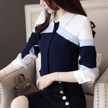 womens tops and blouses 2019 chiffon blouse shirts women tops long sleeve ladies