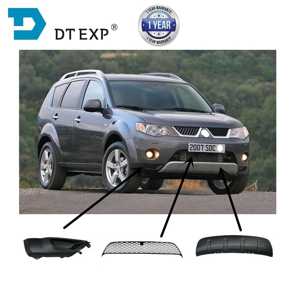 6400a738 Front Bumper Under Shield For Outlander Ex 2007-2009 Bumper Corner For Airtrek 6400a470 Bumper Ventilation Net 6402a037