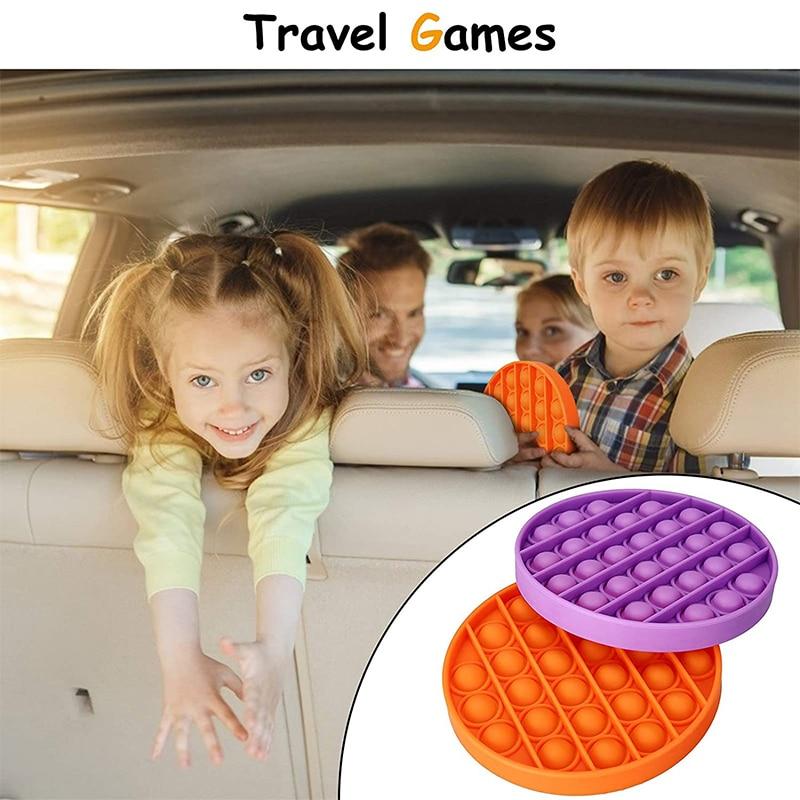 Toy Fidget-Toys Autism Bubble-Sensory Rainbow Anti-Stress Square Squishy Push-Pops Pop-It img3