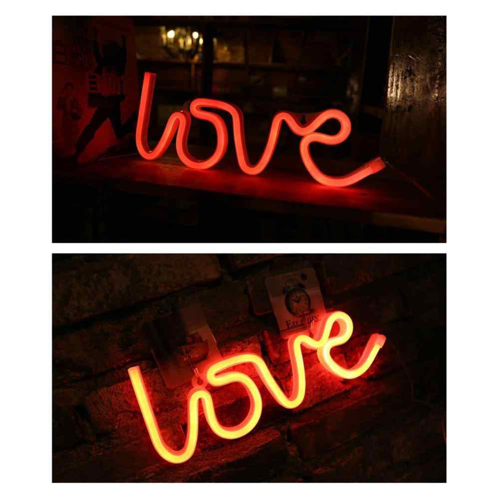 Любовь неоновый светильник s светодиодный в форме любви конфессия Рождественский декоративный светильник s неоновый светильник s Любовь моделирующий светильник светодиодный светильник ночник свет