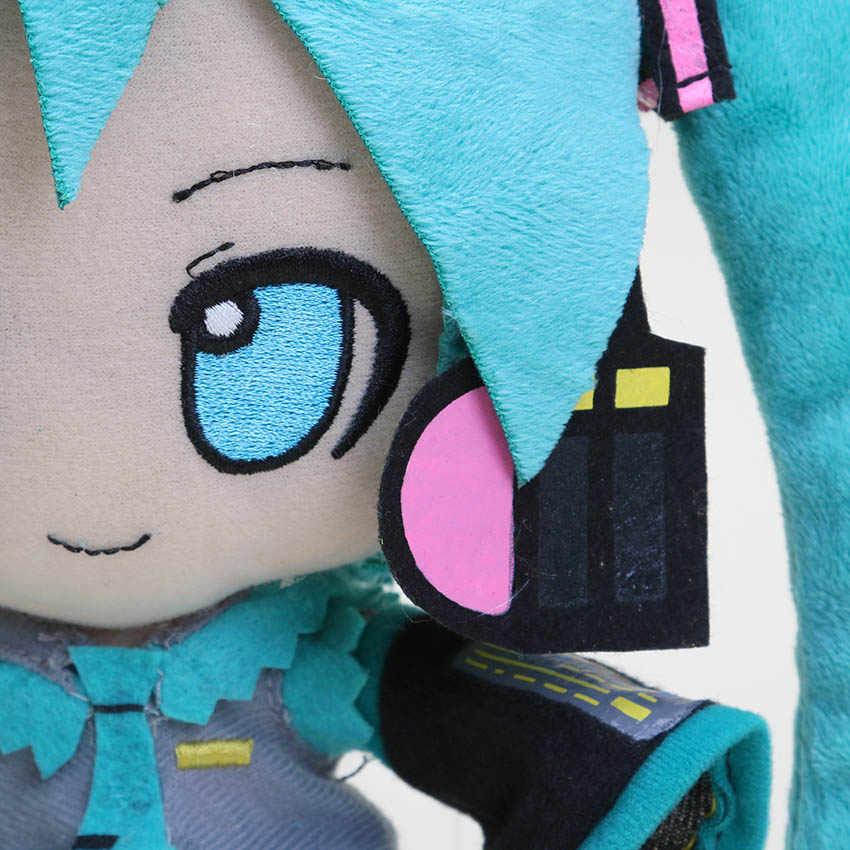 24 centimetri di trasporto Anime Hatsune Miku plsh giocattolo Hatsune Miku VOCALOID serie neve Hatsune Miku Farcito Molle Della bambola Della Peluche giocattoli