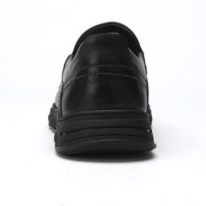 Image 4 - Zapatos de hombre CAEML, nuevos conjuntos informales de piel auténtica de vaca para hombre, zapatos de negocios, cómodos y suaves, calzado acolchado ligero para hombre