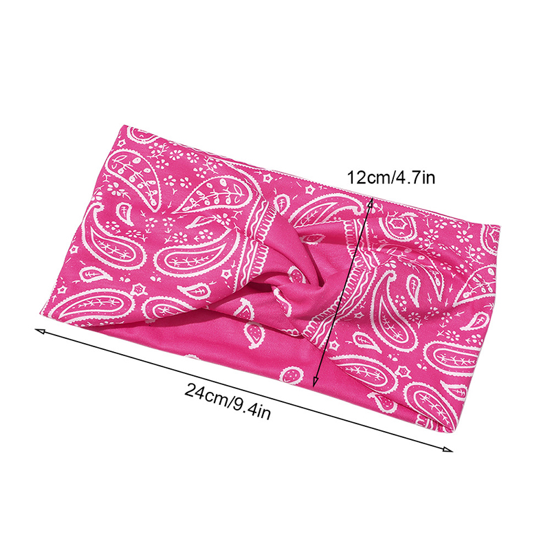 Fashion Casual Cashew Printing Headband Women Women's Accessories Women's Scarf Buckles/Hair Bands