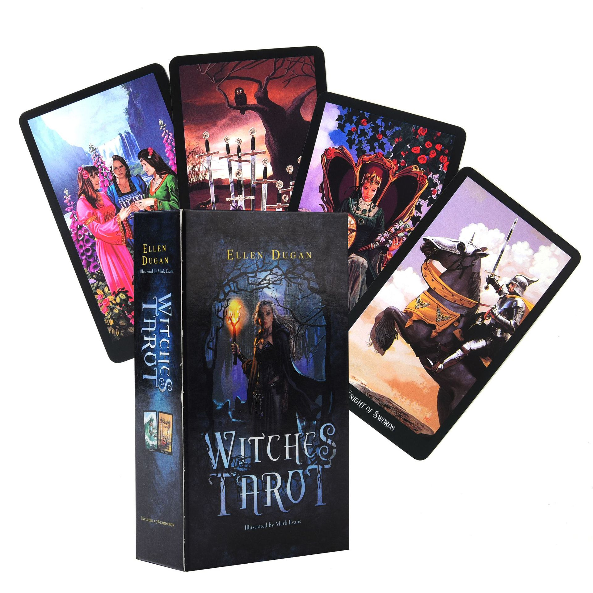 Witches Tarot Cards Box Set Game English Tarot Deck Table Card Game Board Games Party Playing Cards Entertainment Family Games