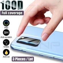 3PCS Lente Da Câmera Vidro De Proteção Para Samsung Galaxy S8 S9 S20 S10 Plus Nota 20 Ultra A50 A51 A70 A71 A30 A40 A20 Vidro Temperado