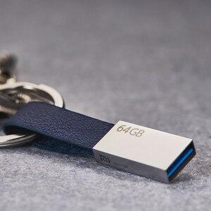 Image 5 - 정품 xiao mi mi u 디스크 64 gb usb 3.0 고속 trans mi ssion 소형 끈 디자인 youpin에서 휴대용 mi ni 금속 몸