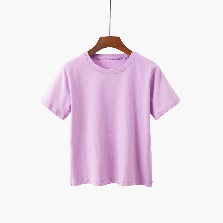2020 Summer Men Tshirt Solid Color V Neck Casual Slim Style Male Slim Tops Tees
