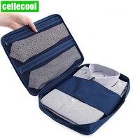 Non-woven fabric Fashion Shirt Bra Clothes Case Handbag Portable Pouch Men Travel Suitcase Organizer Luggage Storage Bag
