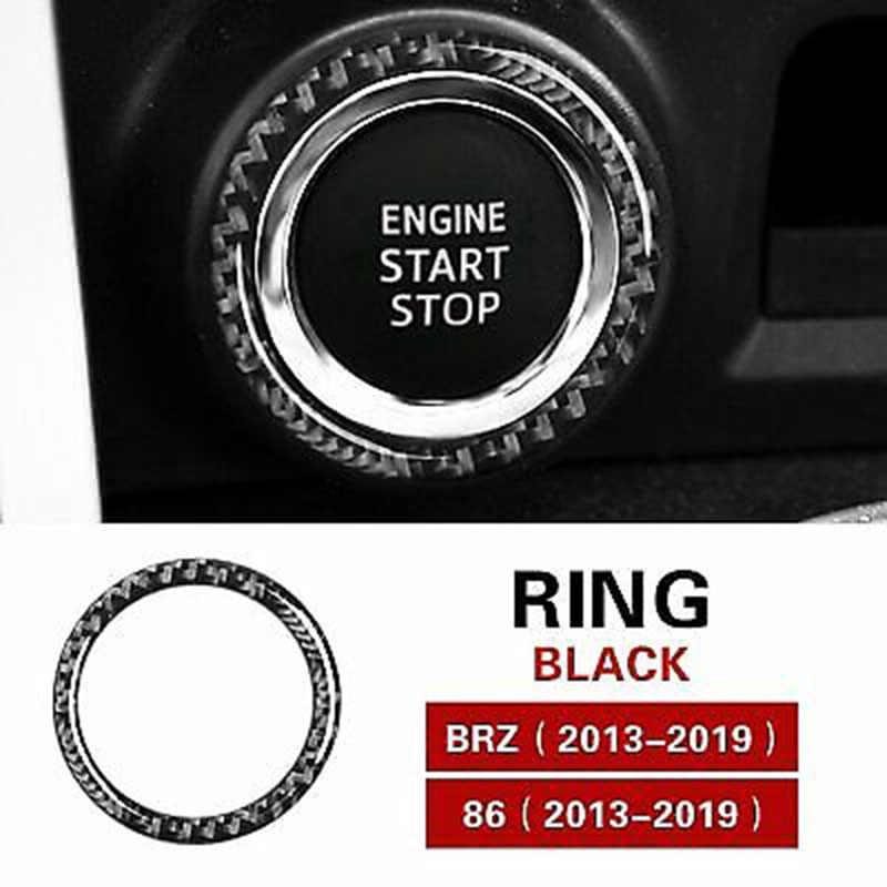 רכב מנוע הצתה להתחיל לקצץ טבעת כיסוי אביזרי לסובארו BRZ 2013-2019
