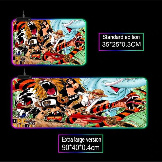 Mairuige diy аниме цельная игра rgb большой плеер коврик для