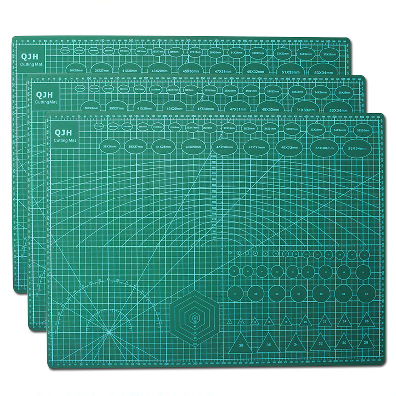 A1 A2 A3 A4 Pvc cutting mat self healing cutting Patchwork tools cutting mats for DIY leather tool pad Paper Mat for Cutting