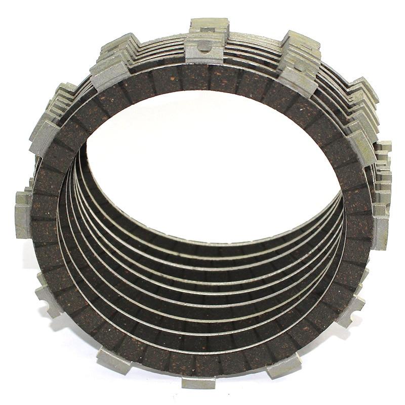 9PCS FOR KAWASAKI ZR 750 Z 750 2004 2005 2006 Z750 S 2005 ZR 750L 2006-2010 Engine Cylinder Clutch Plates Kit
