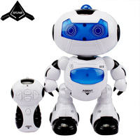 New Smart Space Dance Robot Dog Electronic Walking Toys With Music Light Christmas New Year Gift For Kids Astronaut Toy to Child