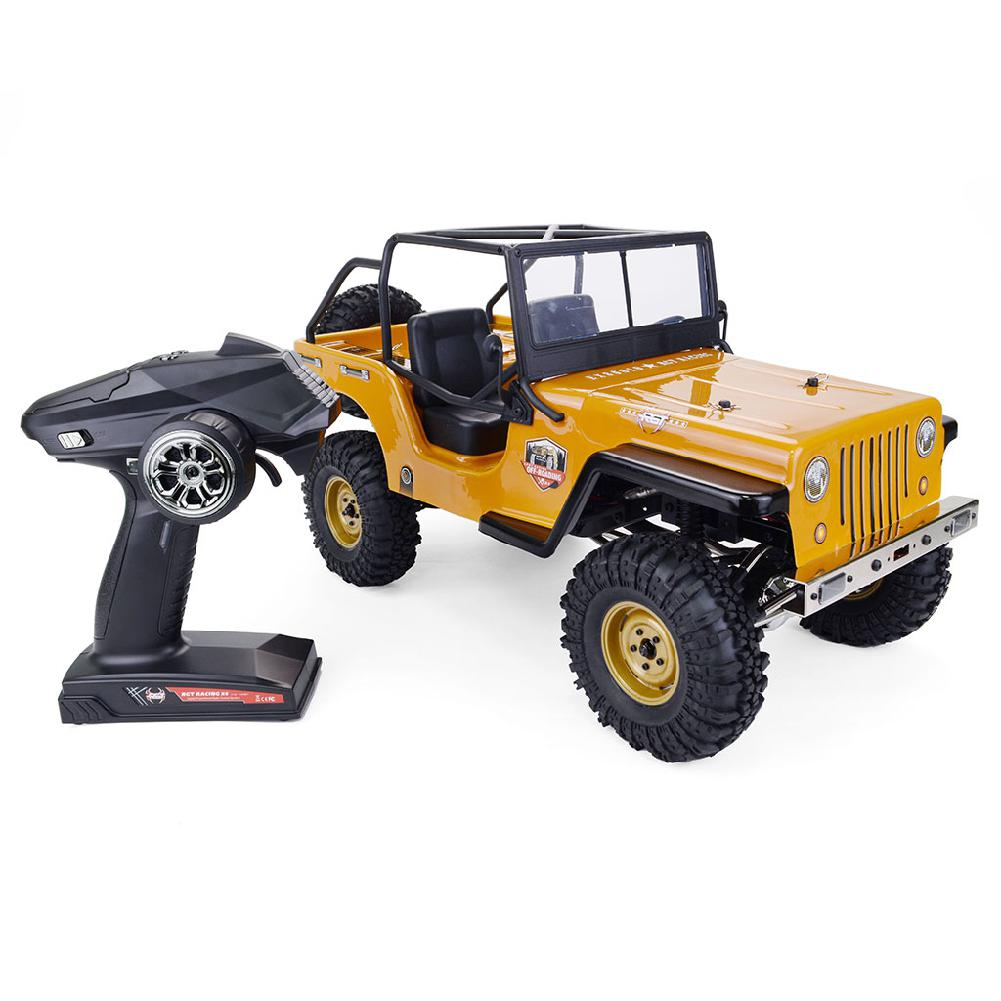 RCtown RGT EX86010-CJ 1/10 2.4G 4WD Split Transmission All-terrain Off-road Rock Crawler Climbing Vehicle RC Car RTR