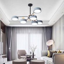 Nordic LED Round Color Macaron Ceiling Lights Lighting Modern Luxury Cafe Living Room Restaurant Lamp Bedroom Deco Light Fixture