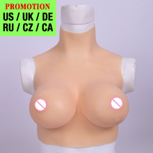 Huge Boobs Crossdressing Breast-Forms Drag-Queen Fake Realistic Silicone Shemale Transgenders