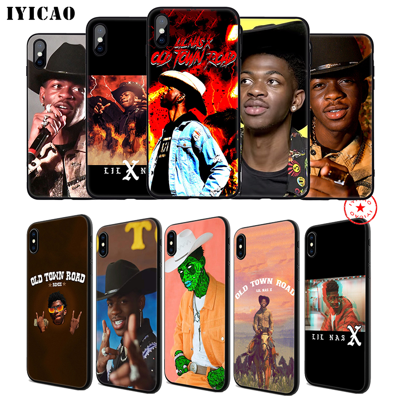 IYICAO Lil Nas X Rapper Soft Phone Case for iPhone 11 Pro XR XS Max 6 6S 7 8 Plus 5 5S SE Silicone TPU