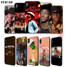 IYICAO Lil Nas X Rapper Soft Phone Case for iPhone 11 Pro XR X XS Max 6 6S 7 8 Plus 5 5S SE Silicone TPU 7 Plus