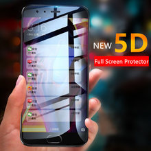 5D Full Cover Tempered Glass for Xiaomi Redmi Note 5 Screen Glass for Redmi S2 Y1 Y2 4A 5 Plus Glass on Redmi Note 4X 5A Prime(China)