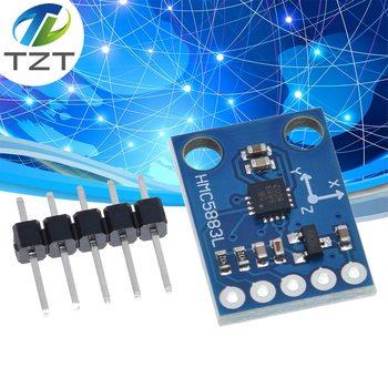 GY-273 3V-5V HMC5883L üçlü eksen pusula manyetometre sensörü modülü üç eksenli manyetik alan modülü Arduino için