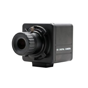 CS mount 4 мм 6 мм 8 мм 12 мм 16 мм 8 Мп Sony IMX179 веб-камера UVC OTG 8 Мп чехол с USB-камерой для Android Linux Windows Mac
