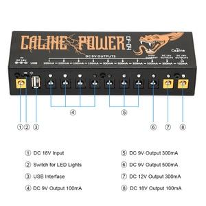Image 3 - Caline CP 04 กีตาร์พาวเวอร์ซัพพลาย 10 เอาต์พุตPowerจูนเนอร์วงจรสั้น/Over current Protectionกีตาร์Power