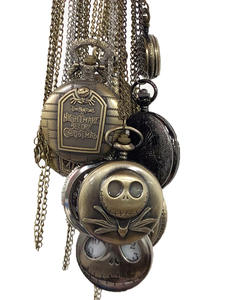 Pendant Skull-Watch ...