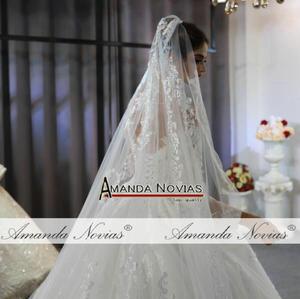 Image 2 - رداء مارياج فام 2020 فستان زفاف دانتيل كامل فساتين زفاف للعروس