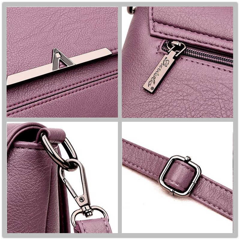Bolso Casual de mujer 2019 nuevo bolso de hombro coreano para mujer bolso de mensajero de lujo de diseñador de mujer bolso de mano