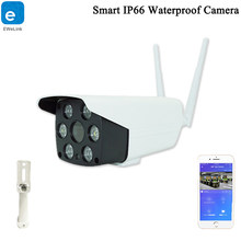 Ewelink IP66 Câmera À Prova D' Água Inteligente Câmera Wi-fi 1080P Two-way Áudio Intercom Night Vision IR LED Câmera Ao Ar Livre câmera