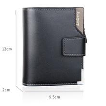 Baellerry Brand Wallet Men Leather Men Wallets Purse Short Male Clutch Leather Wallet Mens Money Bag Quality Guarantee W206