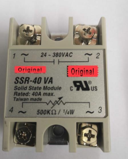 10 шт. SSR-40VA Однофазный твердотельные реле регулятор напряжения 40A SSR40VA