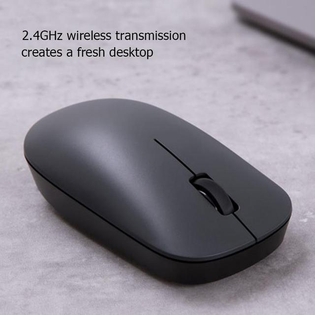 Xiaomi 2 Generation Wireless Mouse Rechargeable 1000 DPI Ultrathin Silent Mice