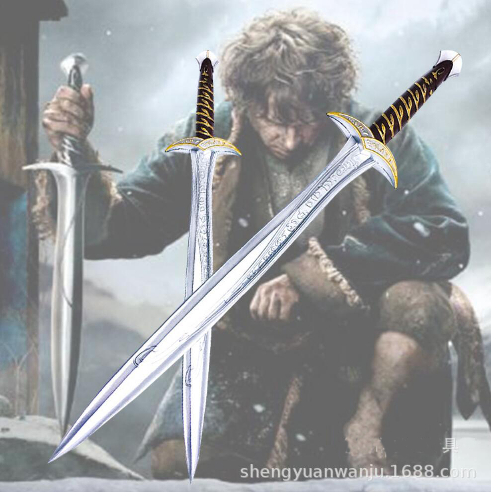 1:1 Cosplay Movie  The  Sword Frodo Baggins 72cm Sting Sword The Two Towers Cosplay Prop Tool