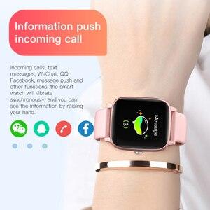 Image 5 - T98 Smartwatch قياس درجة حرارة الجسم مراقب معدل ضربات القلب مقاوم للماء يمكن ارتداؤها جهاز بلوتوث ساعة ذكية لنظام أندرويد IOS