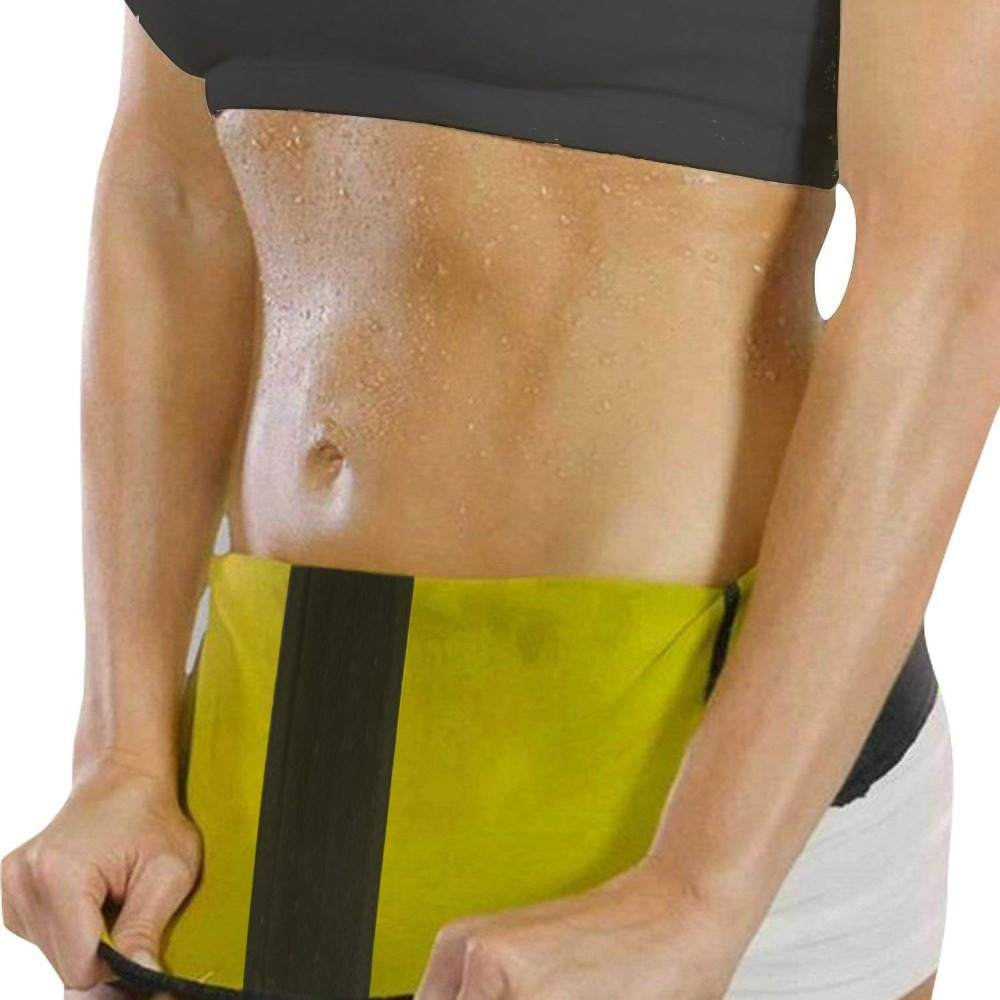 CXZD Women's Hot Thermo Sweat Neoprene Body Shaper Waist Trainer Cincher Corset Tummy Control Shaping Belt Shapewear Slimming Girdle (2)