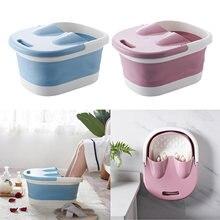 Складная Ванна для купания портативная спа ванна ног женщин