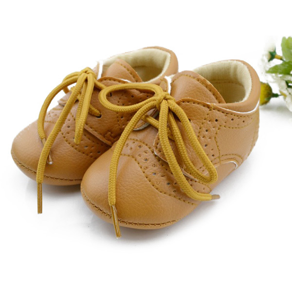 British Style Baby Kids Shoes Infant Toddler Leather Shoes Prewalker