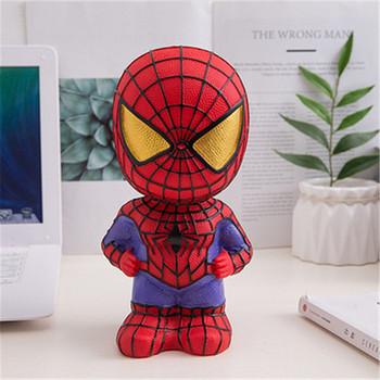 Anime Spiderman figurki zabawki Cartoon skarbonka kapitan ameryka Avengers skarbonka Vinyl skarbonka skarbonka prezenty dla dzieci zabawki tanie i dobre opinie Disney Model CN (pochodzenie) Unisex Jeden rozmiar 22*12CM PIERWSZA EDYCJA 2-4 lata 5-7 lat 8-11 lat 12-15 lat STARSZE DZIECI