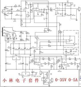 Image 2 - Dykb調整可能な電源DC DC電圧安定化定電流電源ラボdiyキット 0 35v 0 5a 5v 9v 12v 15v 19v 24v