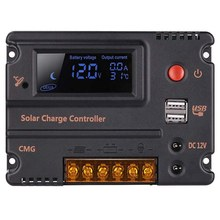 GTBL 20A Solar Laderegler Auto Switch Lcd Intelligente Panel Batterie Regler Laderegler Überlast Schutz Tempe(China)
