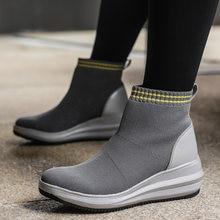 Женские Водонепроницаемые прогулочные туфли flying weaving модные